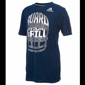 NWT Adidas Guard Your Grill Climalite Tee Shirt